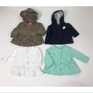 3 Month Baby Girl Lightweight Jacket Lot
